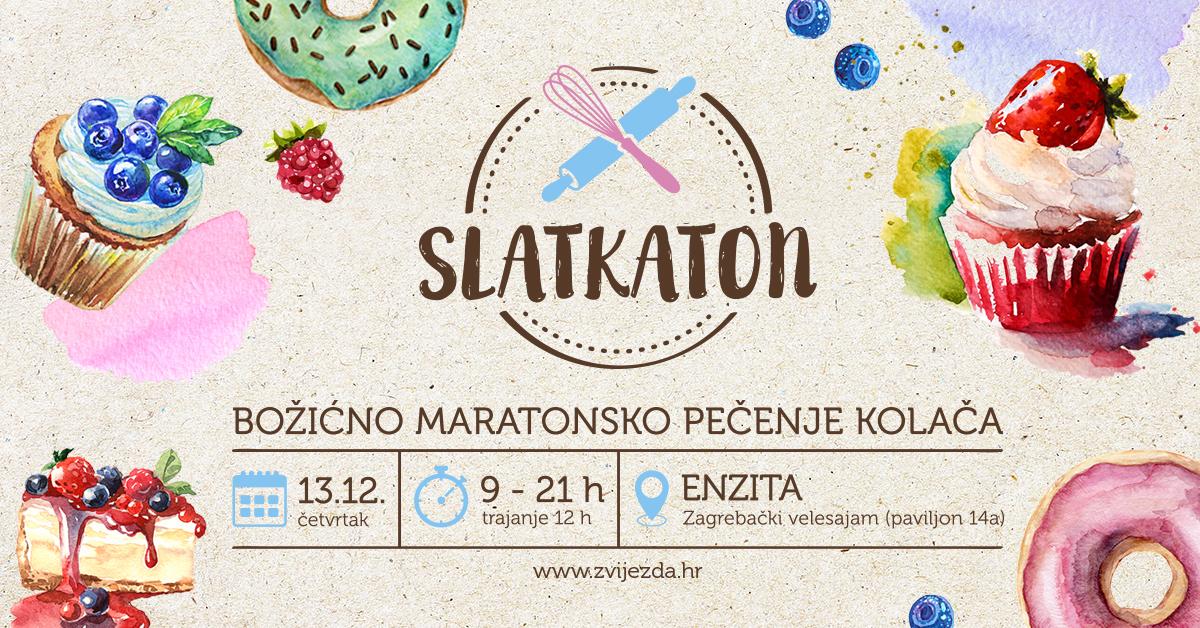 SLATKATON Zvijezda organizira maraton pečenja kolača za slastičare amatere