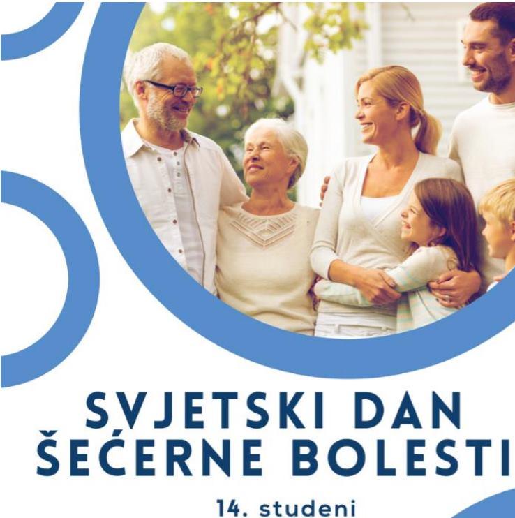 Obilježavanjem Svjetskog dana šećerne bolesti kroz programe i aktivnosti podiže se svjesnost o bolesti