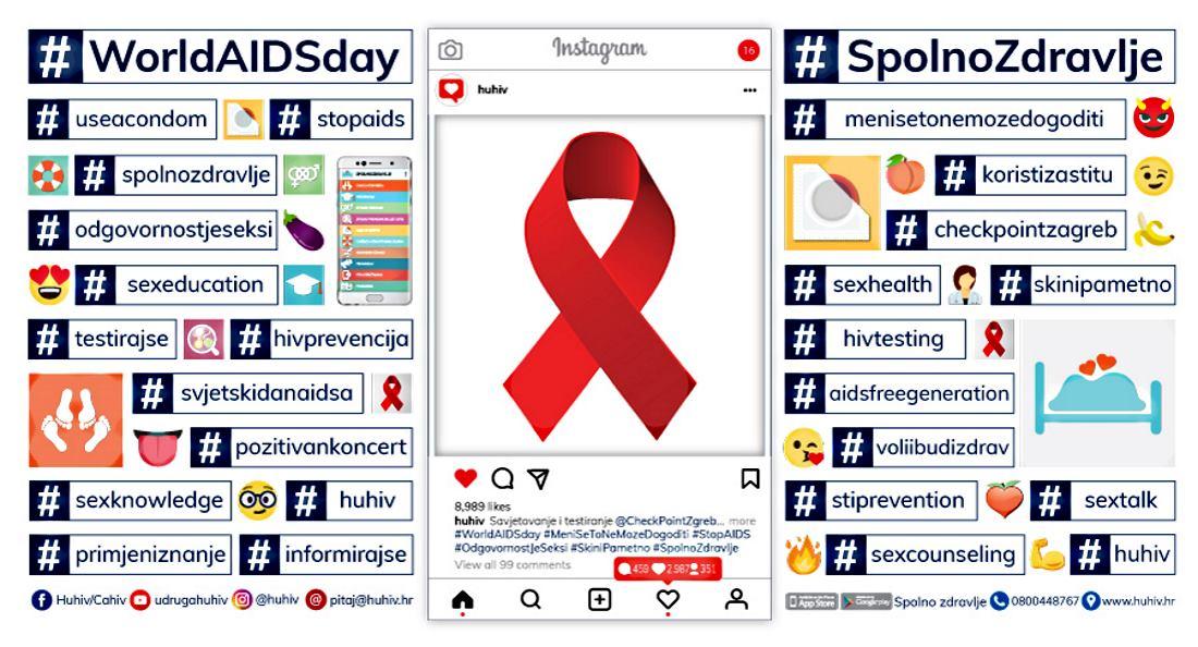 VIDEO: Obilježavanje Svjetskog dana AIDS-a na trgu Petra Preradovića