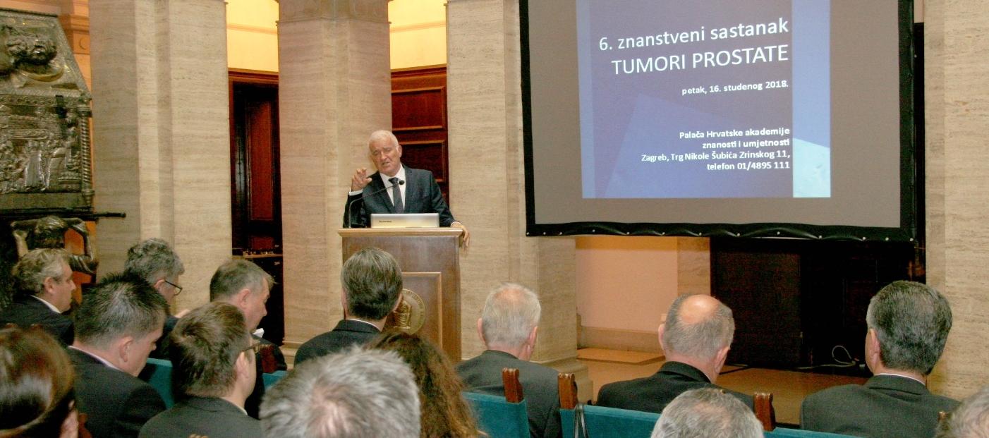 HAZU Održan znanstveni sastanak 'Tumori prostate'