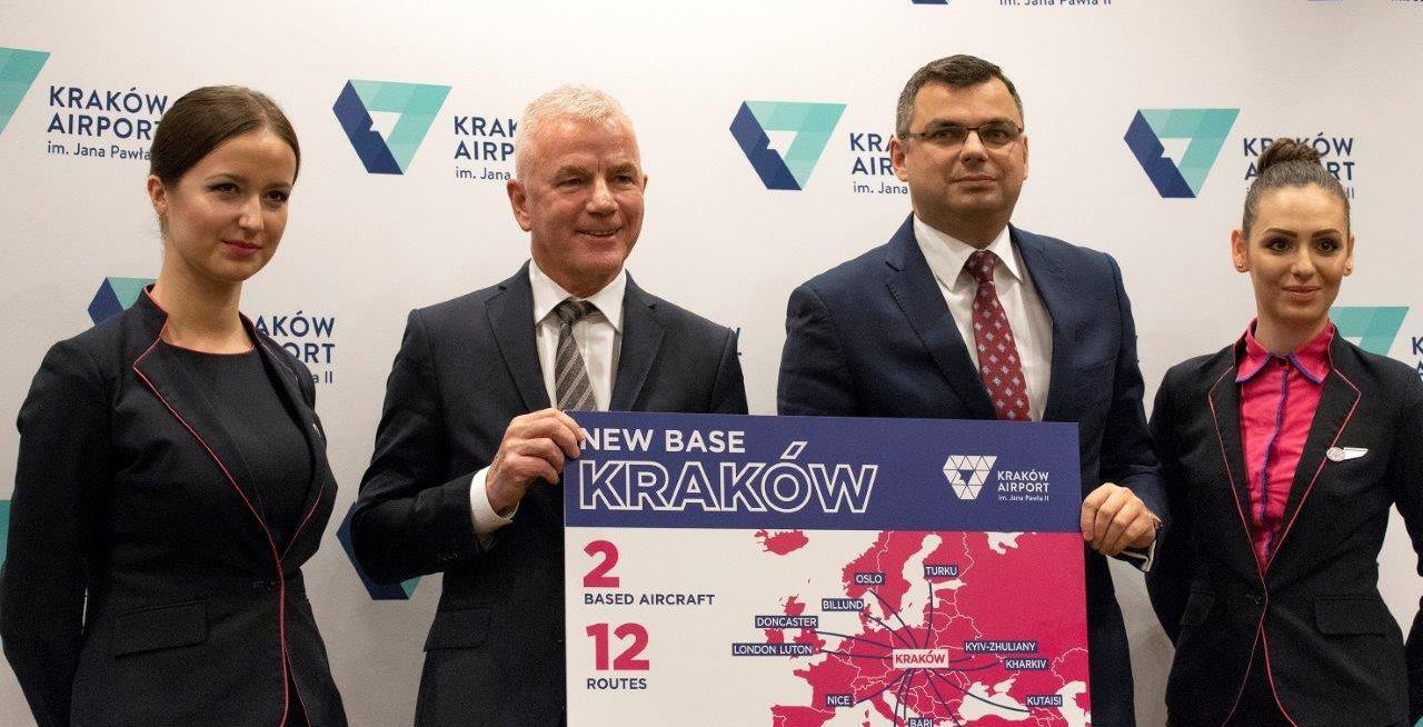 Wizz Air sljedeće godine otvara novu bazu u Krakovu