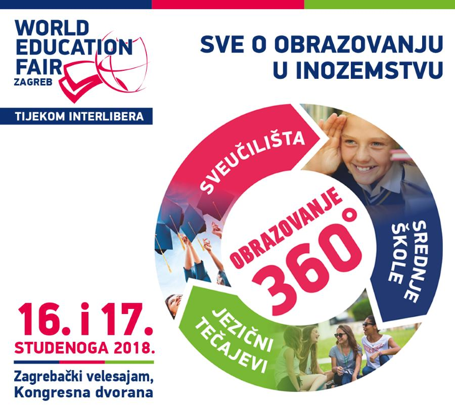 Najveći sajam obrazovanja World Education Fair u sklopu Interlibera