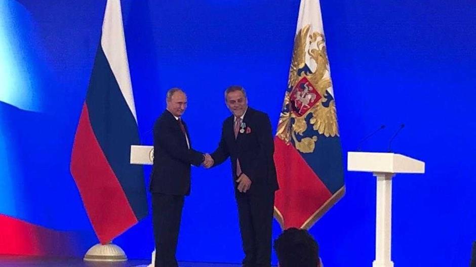 MOSKVA Putin odlikovao Bandića Redom prijateljstva