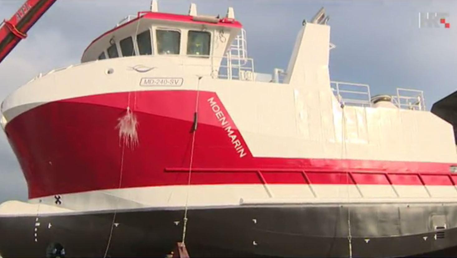 PULA Porinut brod za norveškog naručitelja