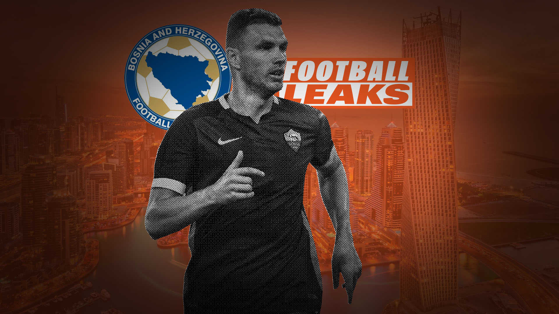 FOOTBALL LEAKS Edin Džeko's secret 3.5 million euro funds in the Emirates