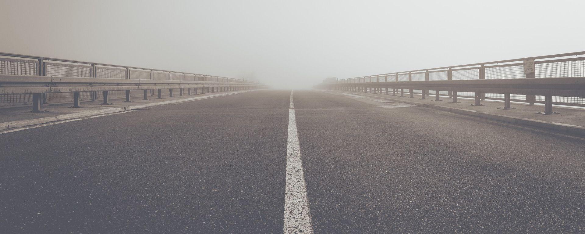 Magla smanjuje vidljivost, kolnici mokri