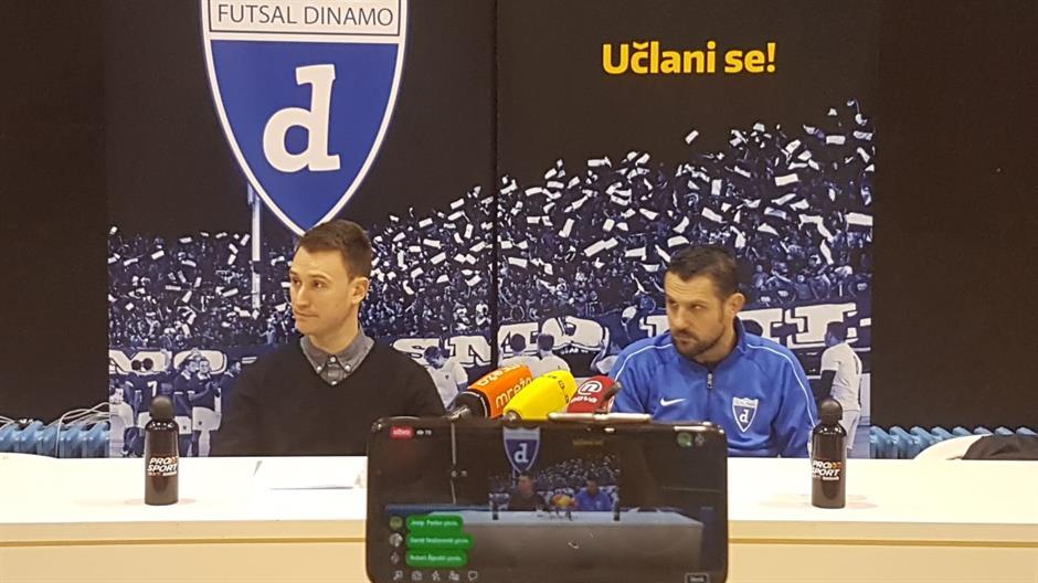 """ČOŠIĆ """"Odlazim zbog orkestriranih napada na Futsal Dinamo"""""""