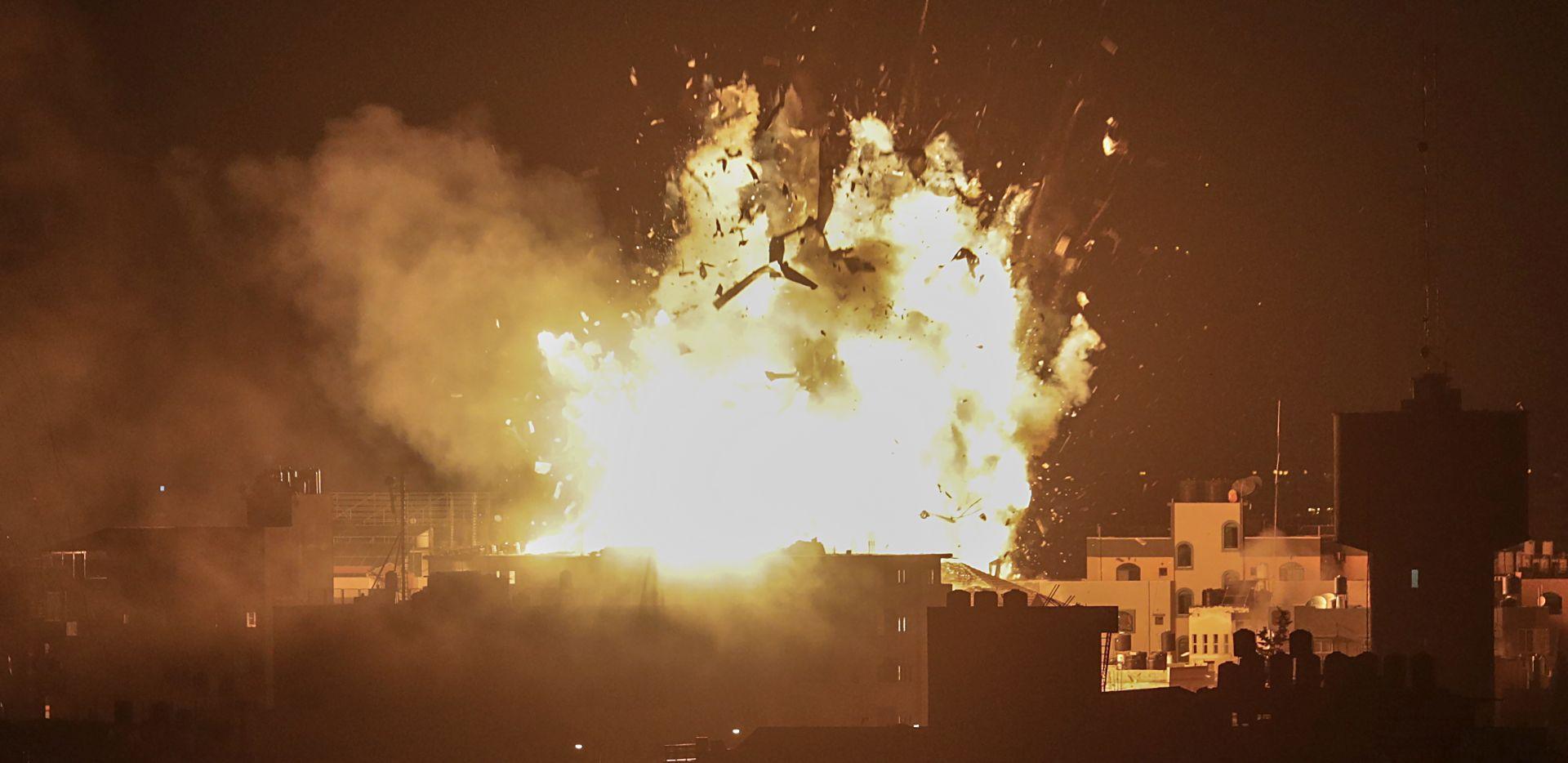 Izraelsko zrakoplovstvo uništilo zgradu Hamasove televizije