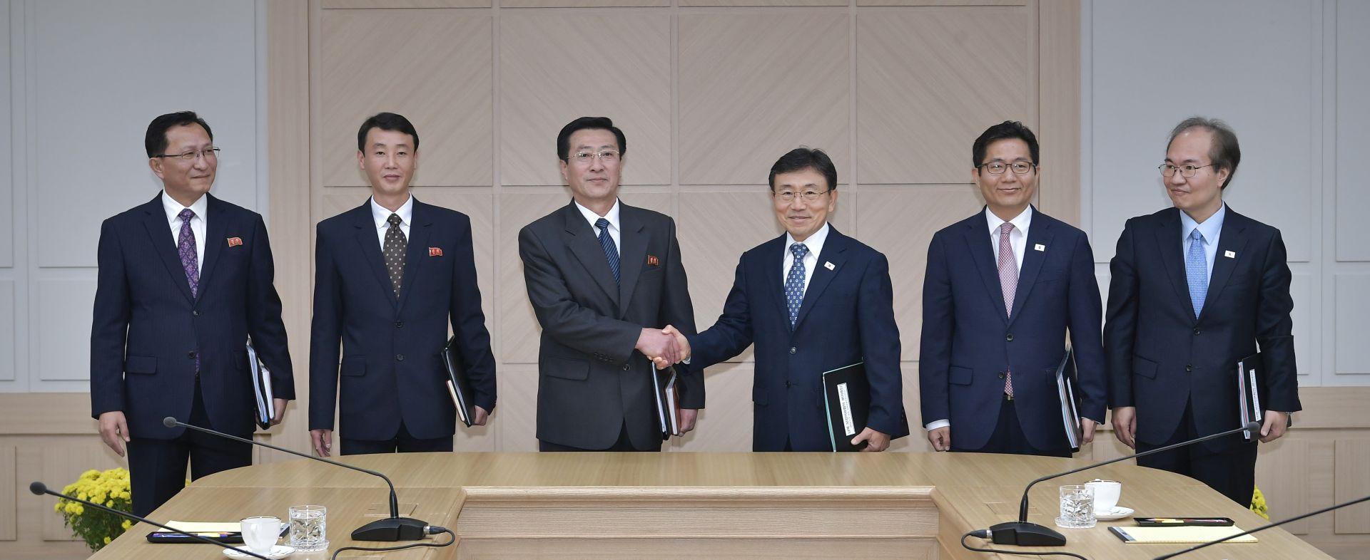 Sjeverna i Južna Koreja povukle vojnike