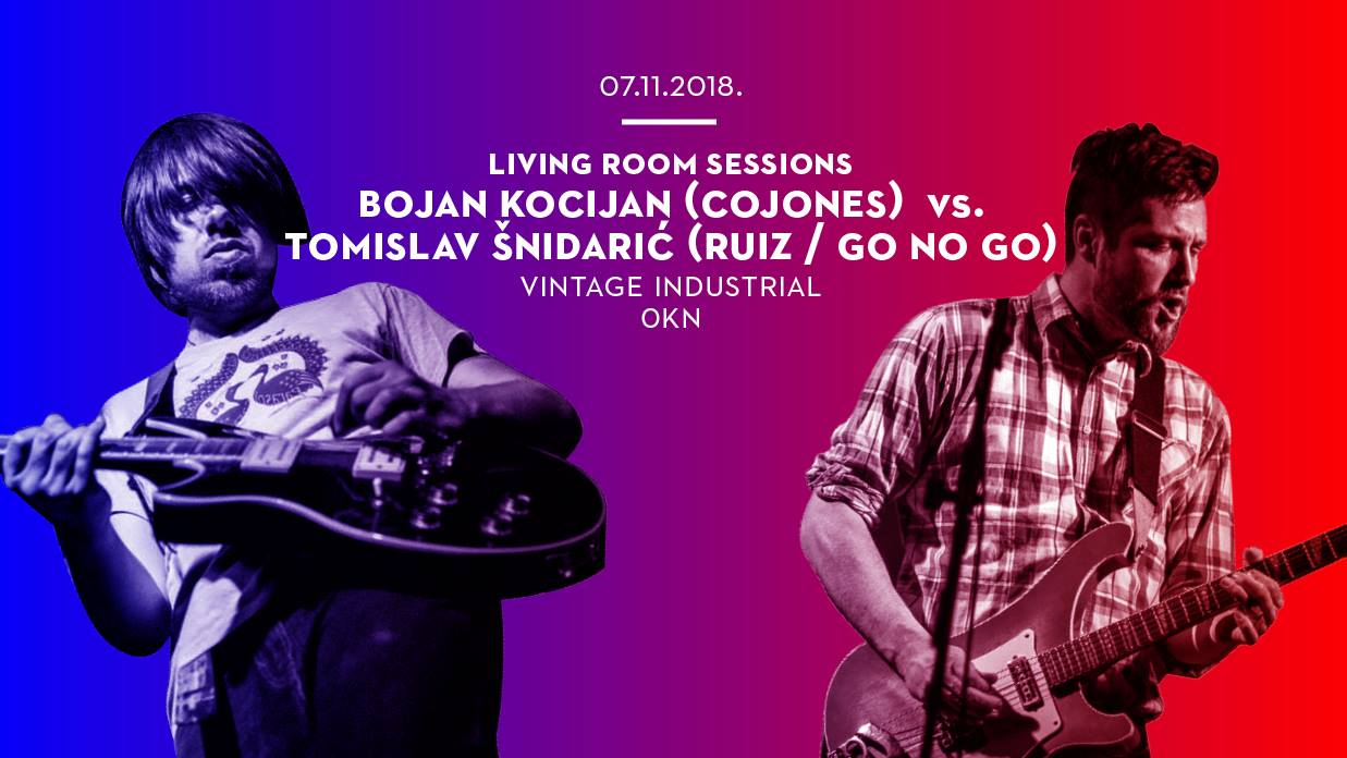 LIVING ROOM SESSIONS Clash frontmana bandova Cojones i Ruiz