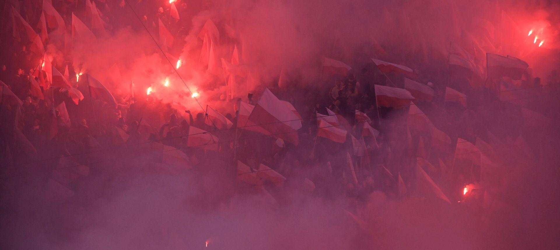 POLJSKA Vatrena proslava 100. obljetnice neovisnosti