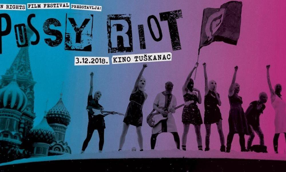 Kolektiv Pussy Riot će nastupiti u sklopu Human Rights Film Festivala
