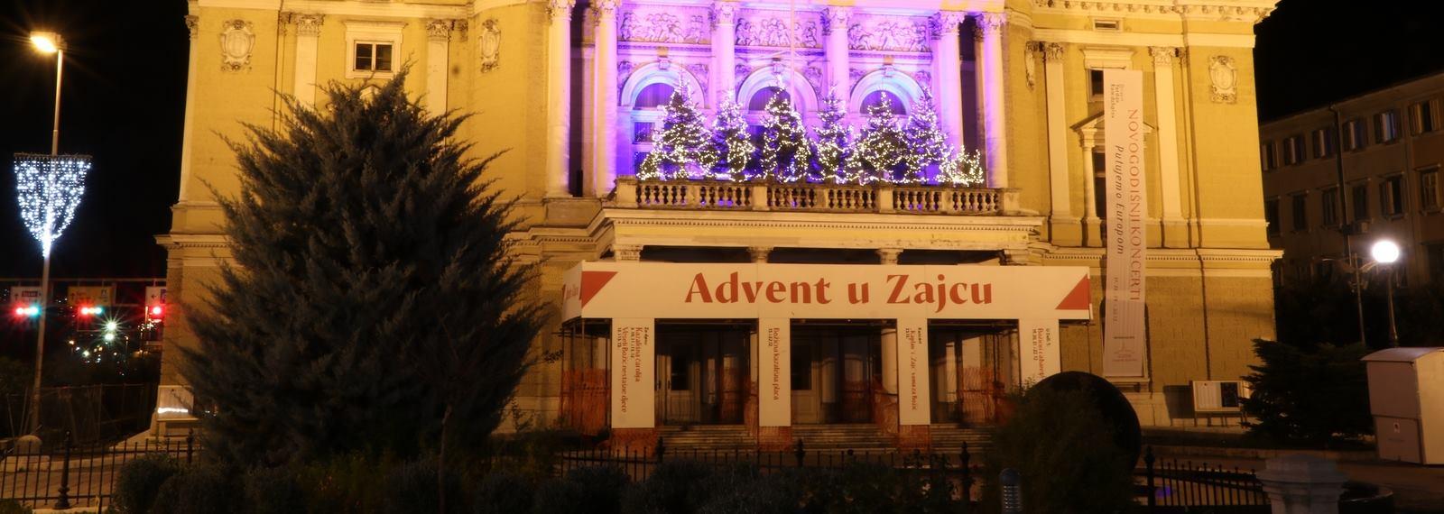 HNK Ivana pl. Zajca u adventsko vrijeme postaje više od kazališta