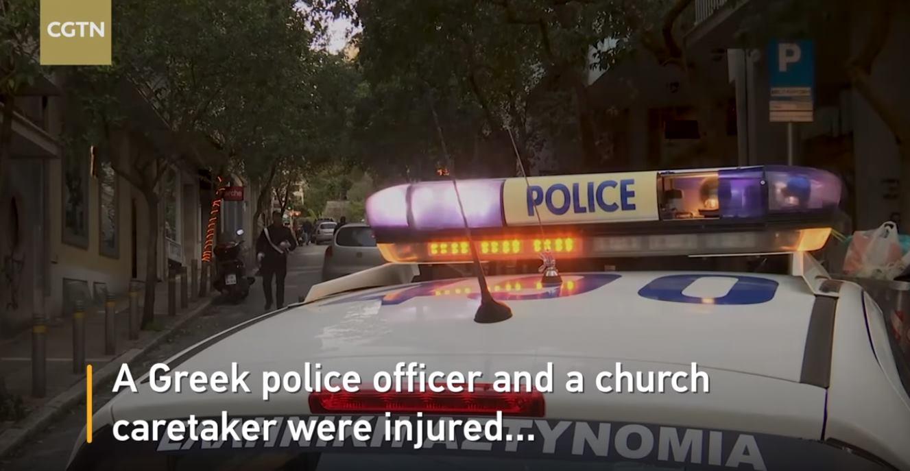 VIDEO: Eksplozija izvan pravoslavne crkve u Ateni