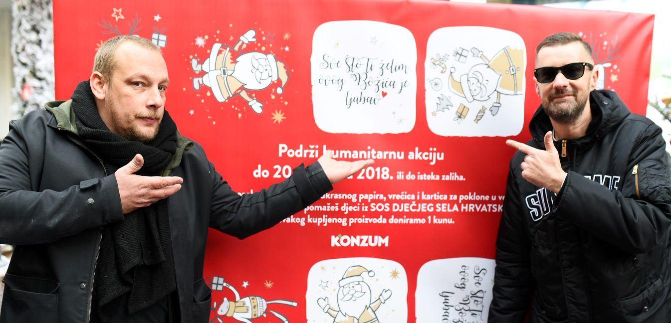 FOTO: VIDEO: Bizzo i Baby Dooks u suradnji s Konzumom otvorili 'Čudnu šumu'