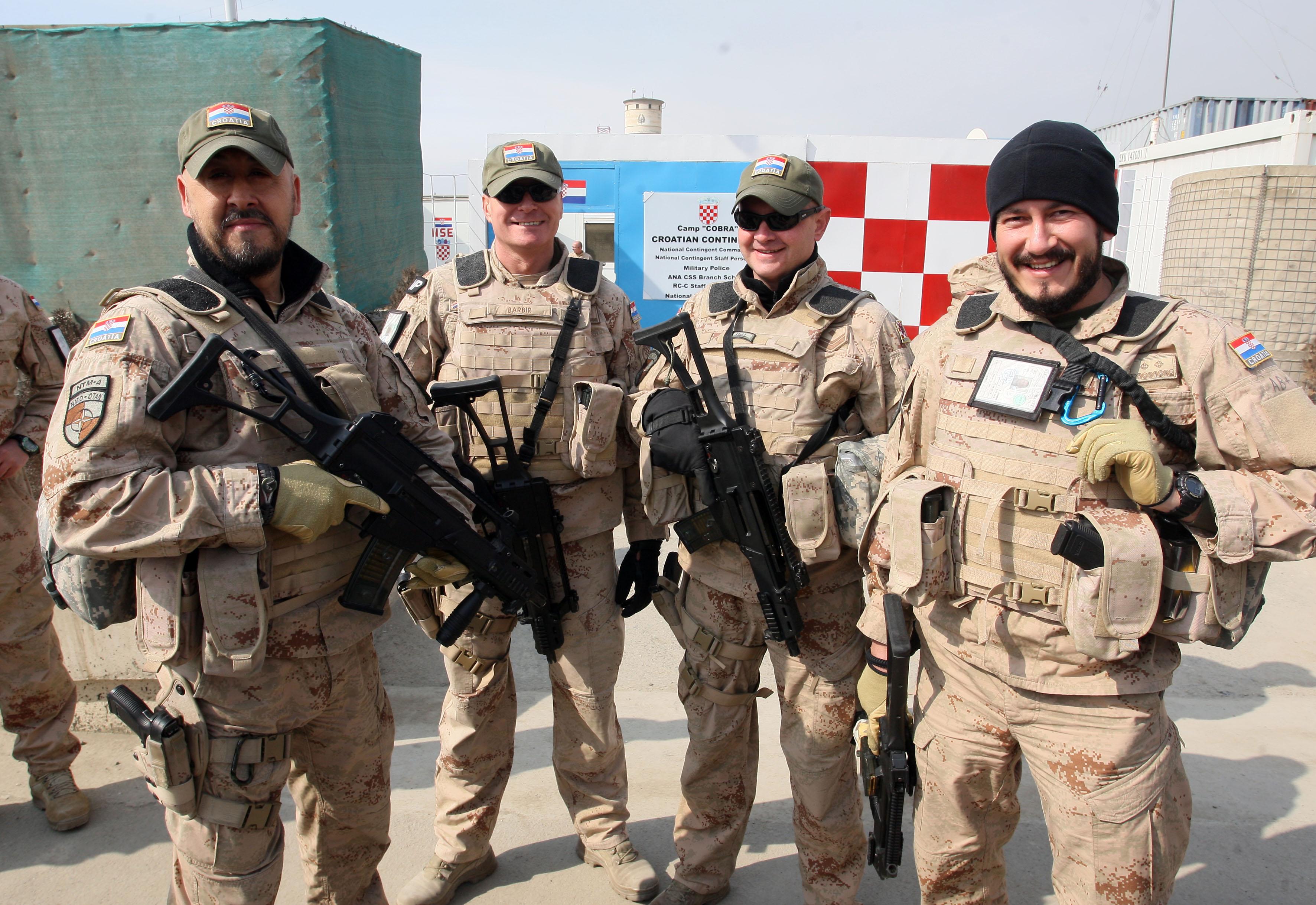 Krstičević u Kabulu primio pohvale za rad hrvatskih vojnika