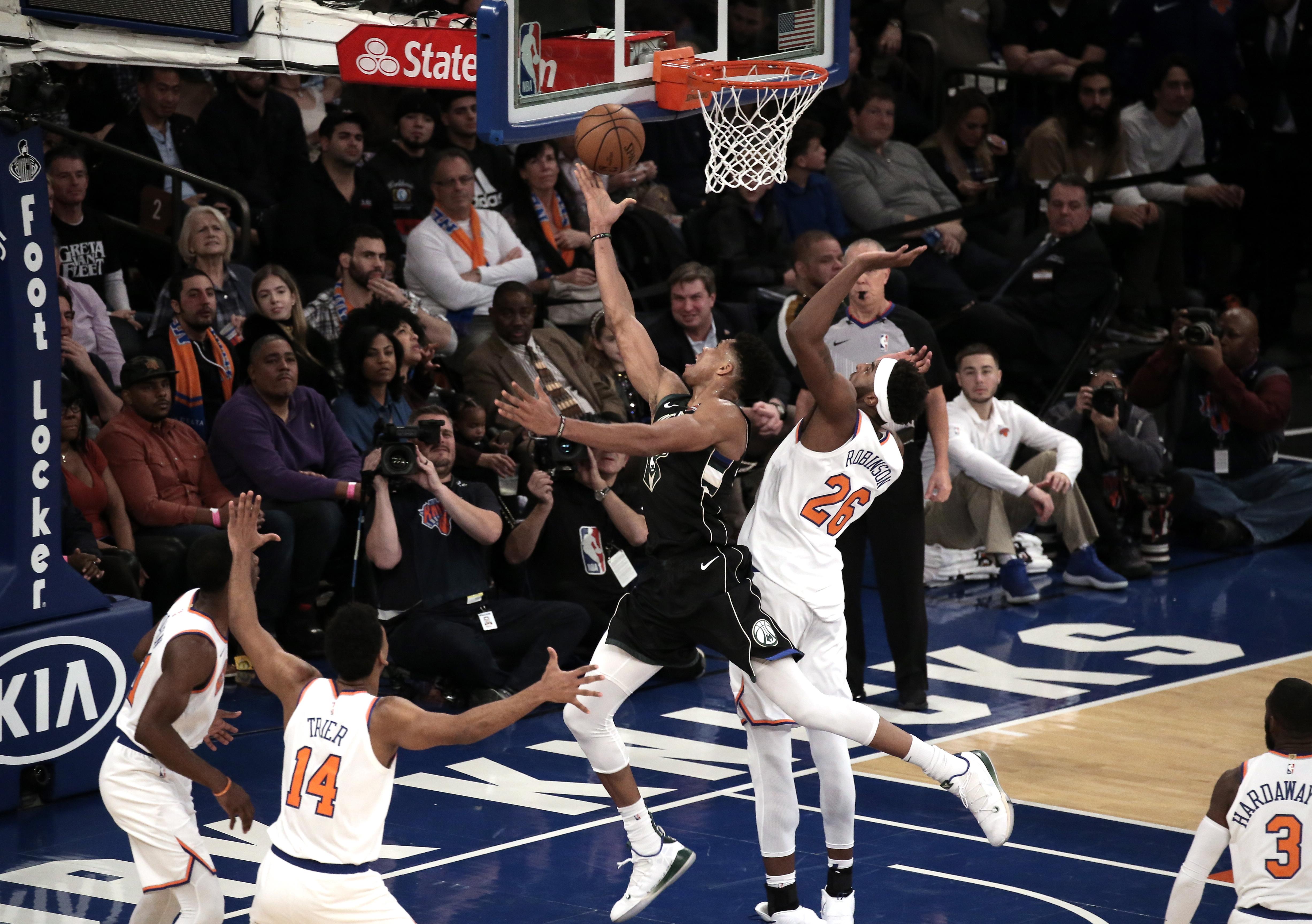 NBA Milwaukee uvjerljiv na gostovanju protiv New Yorka