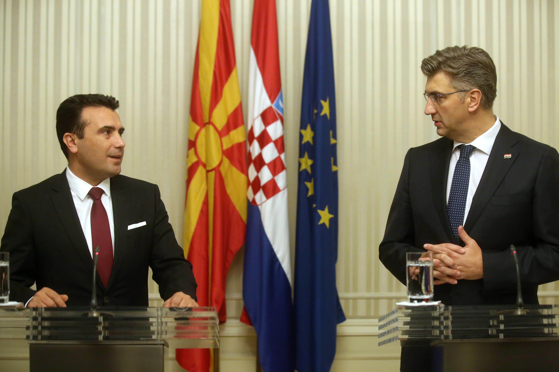 Hrvatska će među prvima ratificirati ulazak Makedonije u NATO
