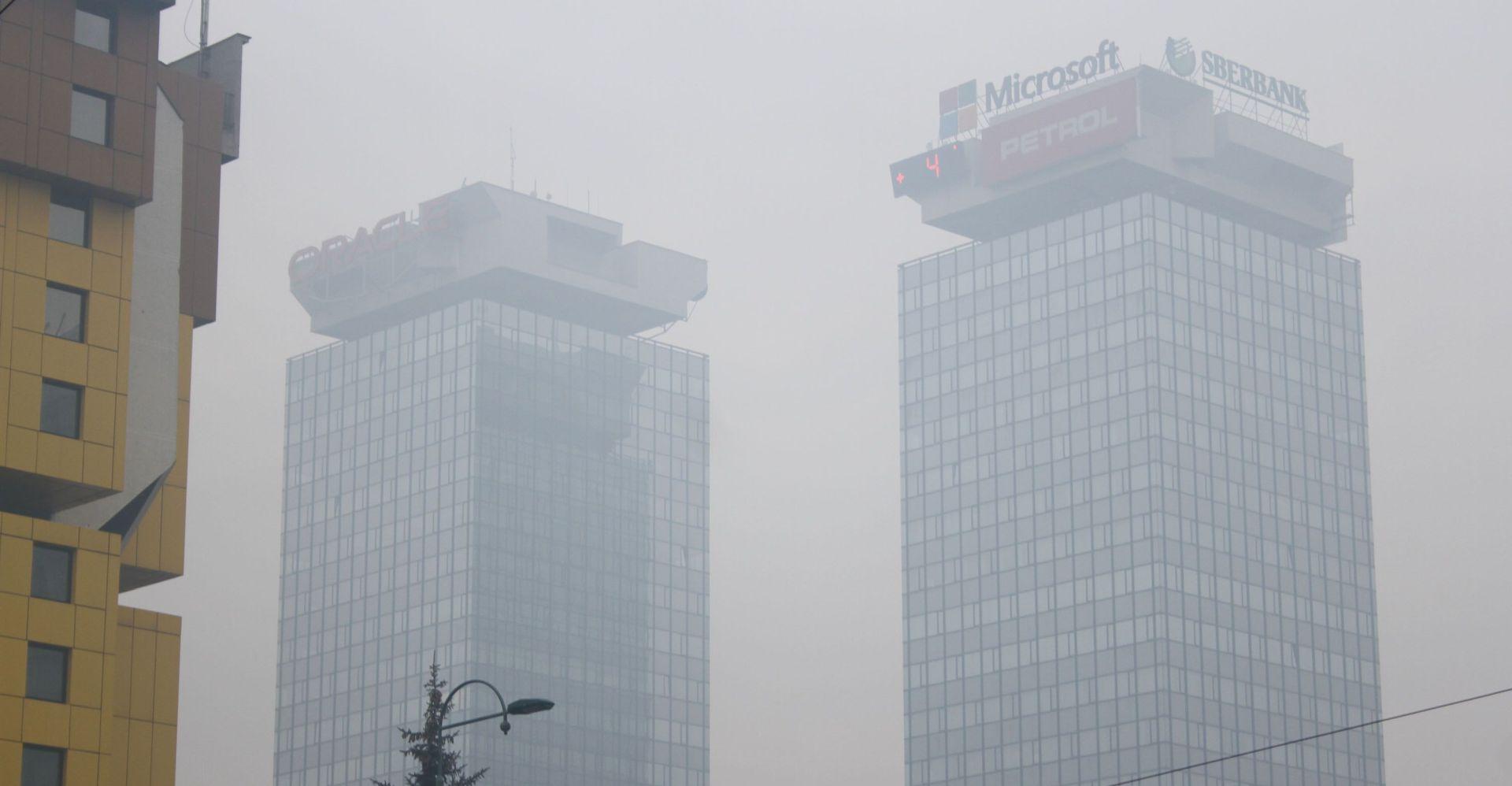 BIH Ponovo opasna koncentracija onečišćenja zraka u gradovima