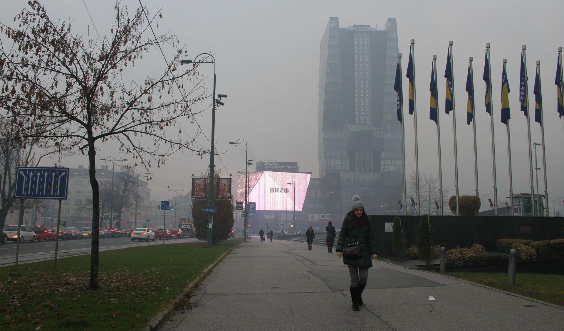 Zima je stigla, balkanski gradovi guše se u smogu