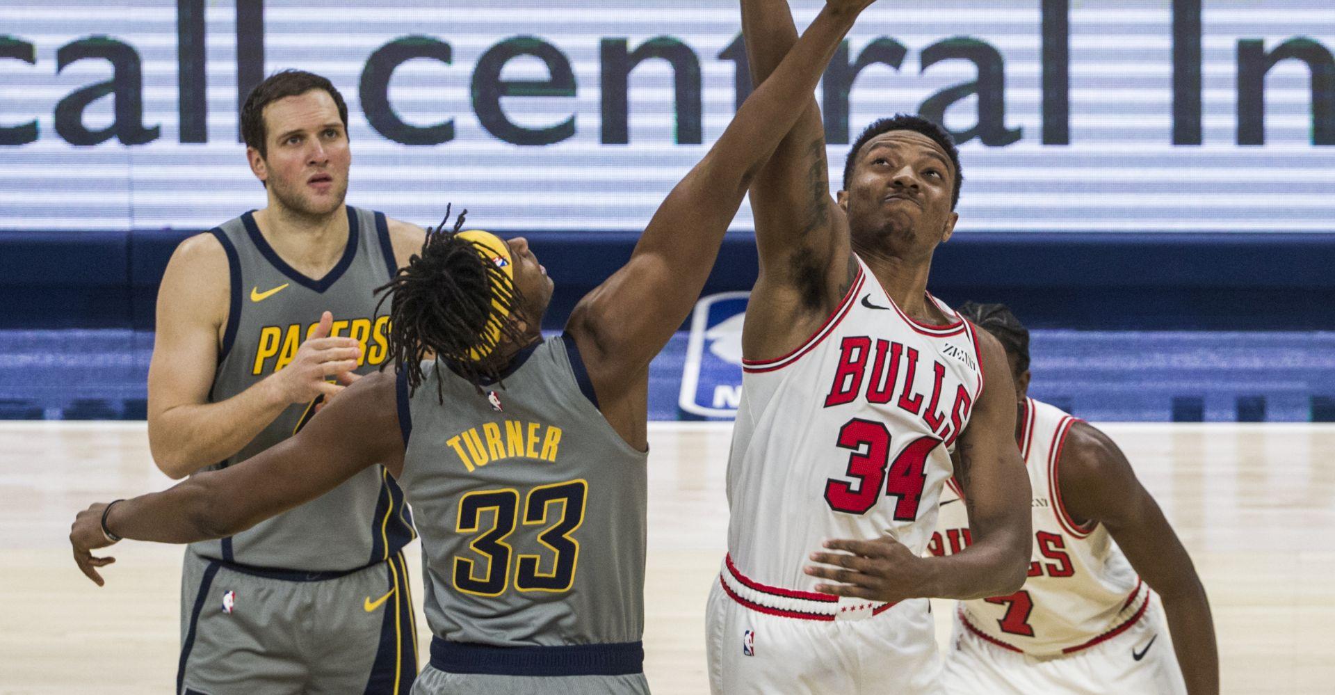 NBA Zaustavljen pobjednički niz Pacersa
