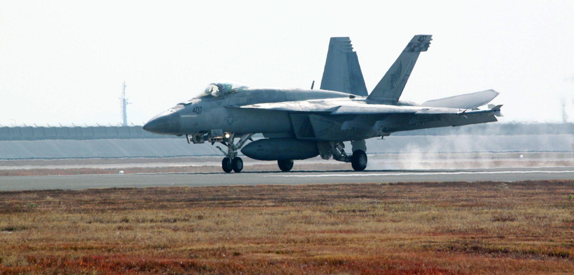 Potraga za američkim marincima nakon sudara aviona u zraku