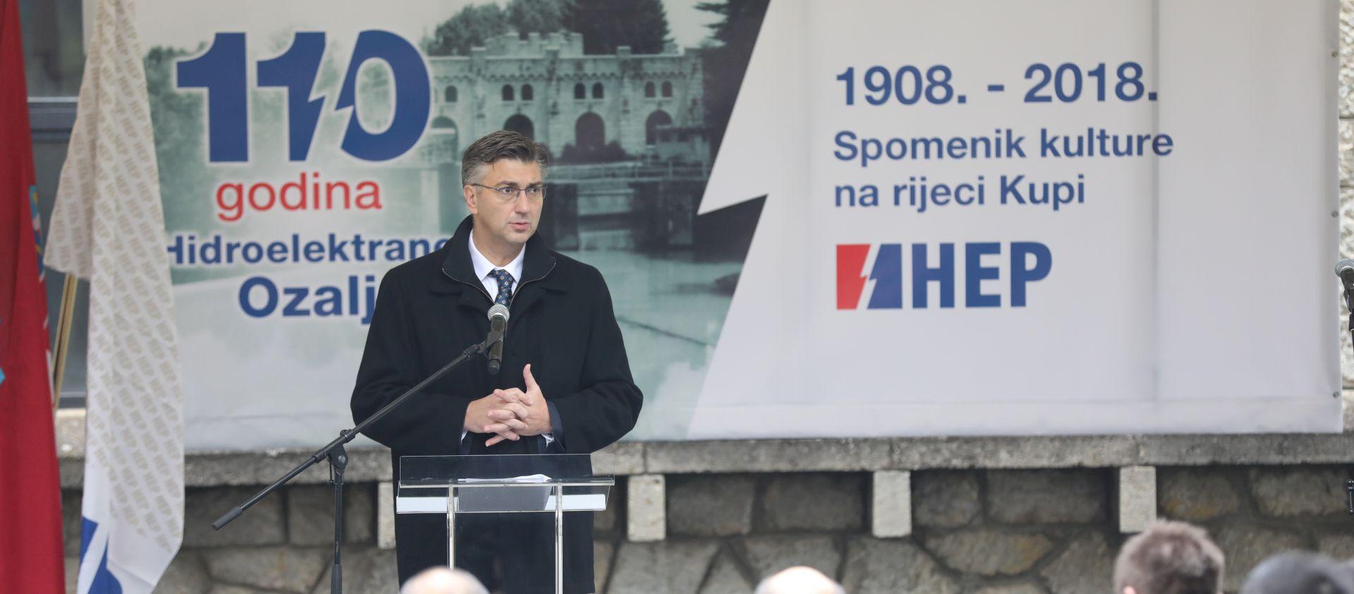 """PLENKOVIĆ """"I investicijski ciklus HEP-a pridonijet će rastu BDP-a"""""""