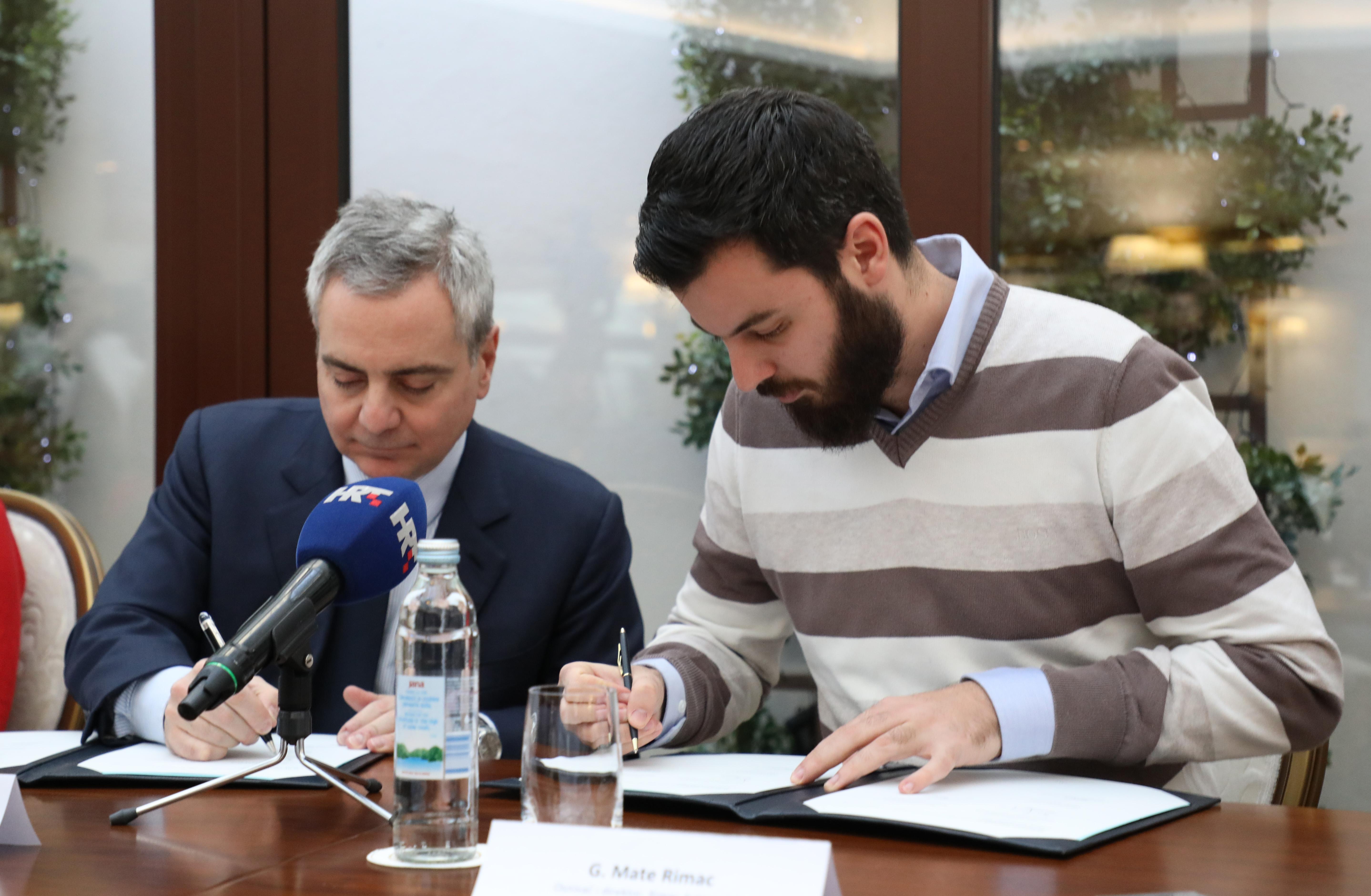 EIB potpisao ugovore o kreditu sa PBZ-om i Rimac Automobilima