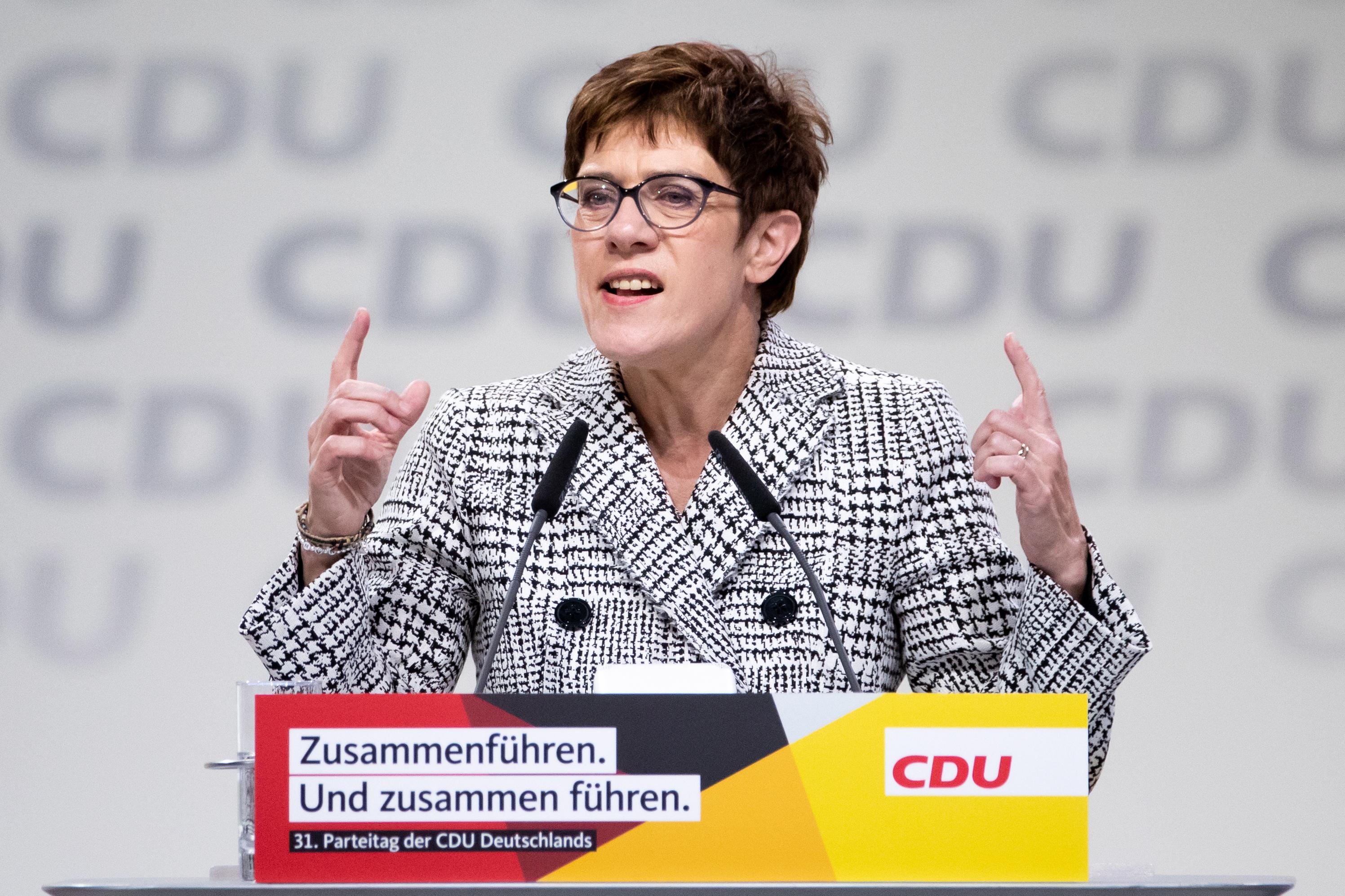 Annegret Kramp-Karrenbauer nova predsjednica CDU-a