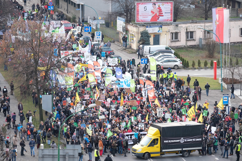 KATOWICE 'Tisuće prosvjednika tijekom održavanja UN-ove konferencije o klimi'