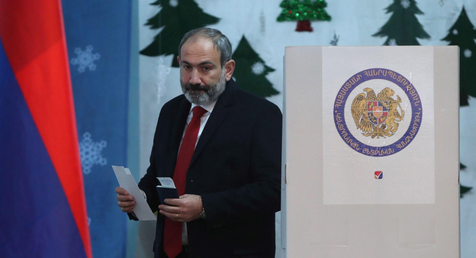 ARMENIJA Pašinjanova koalicija lako osvojila izbore