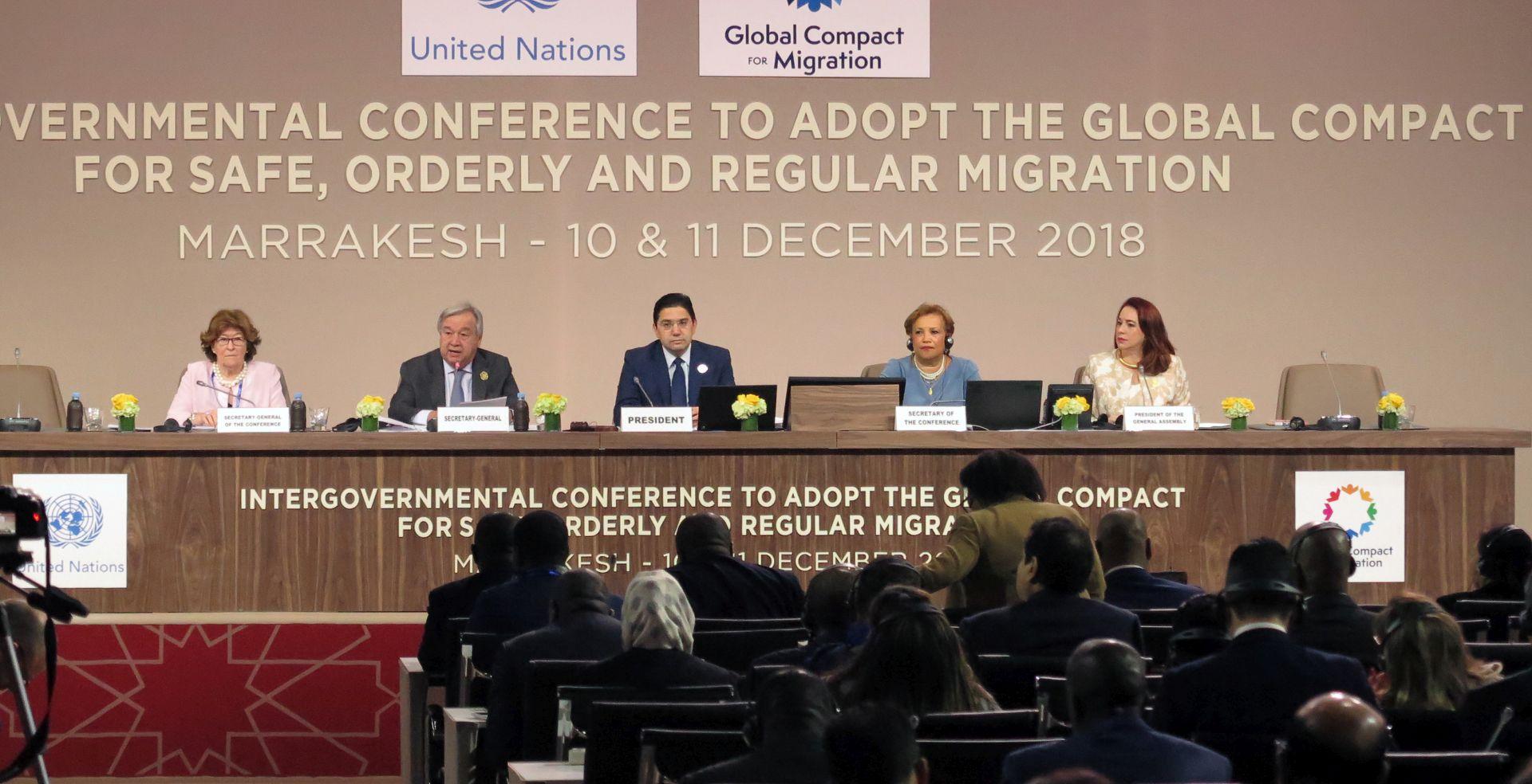 Gutterres u Marakešu otvorio konferenciju o migracijama
