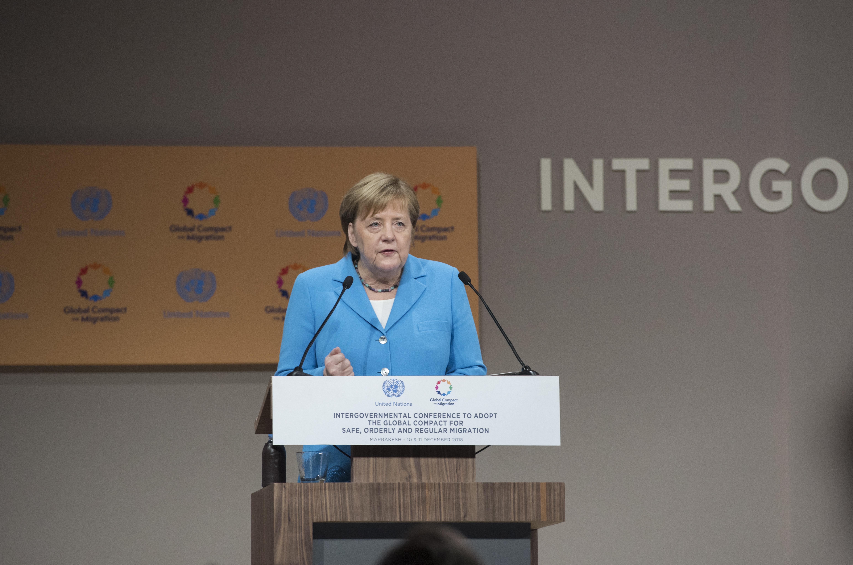 Angeli Merkel najveći pljesak na konferenciji u Marakešu
