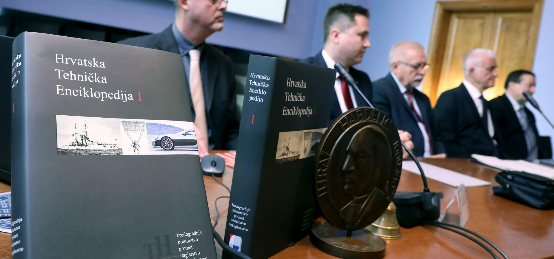 LEKSIKOGRAFSKI ZAVOD Predstavljena Hrvatska tehnička enciklopedija