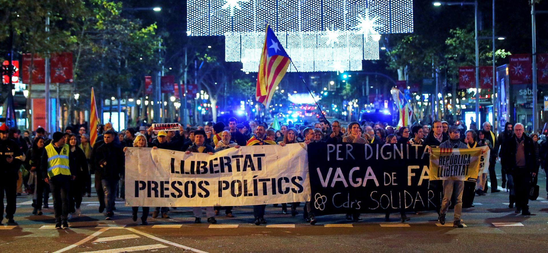 Pristaše katalonske neovisnosti prijete kaosom za božićne blagdane