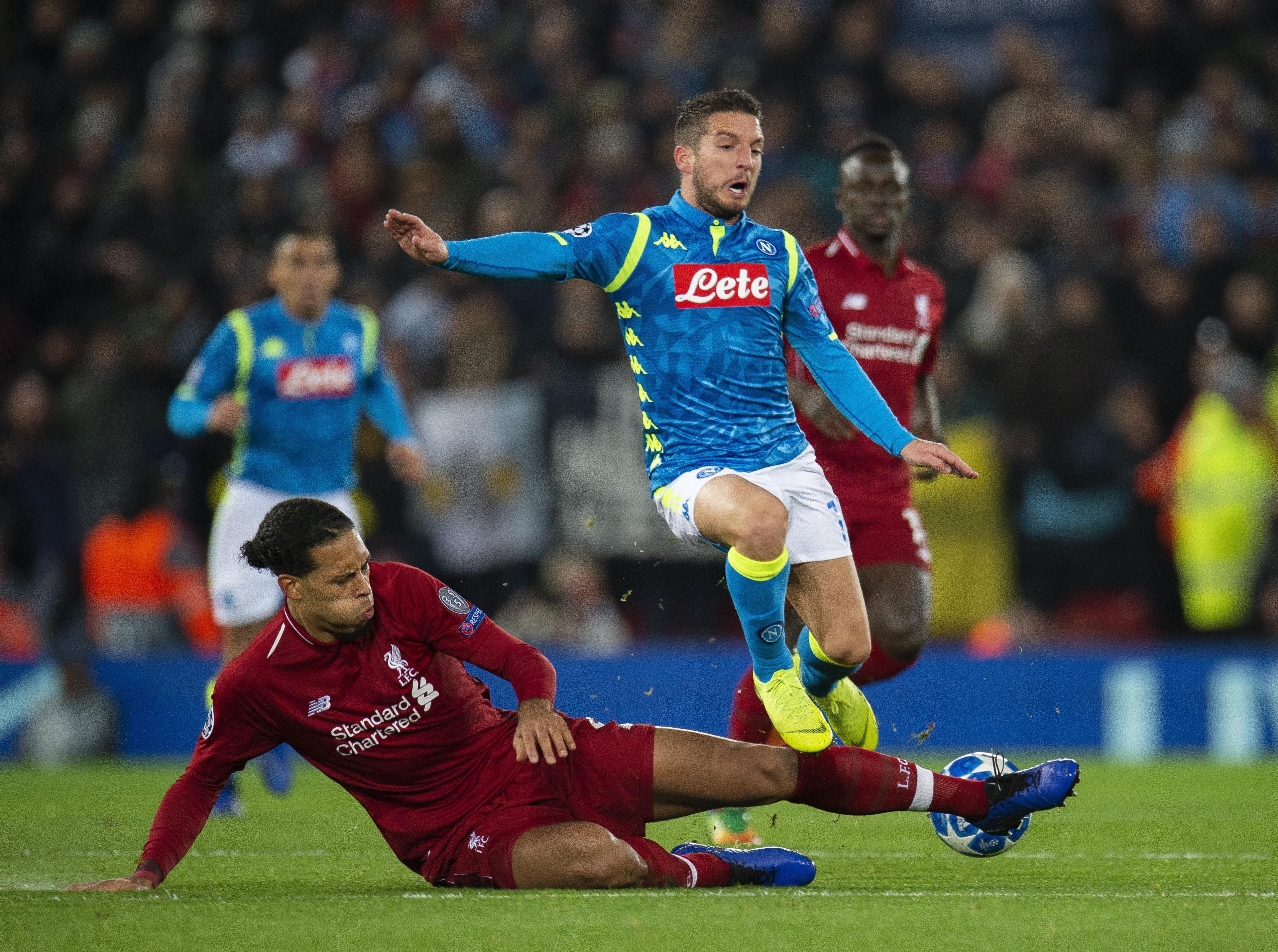 Liverpool i PSG gurnuli Napoli u Europsku ligu, Inter kiksao