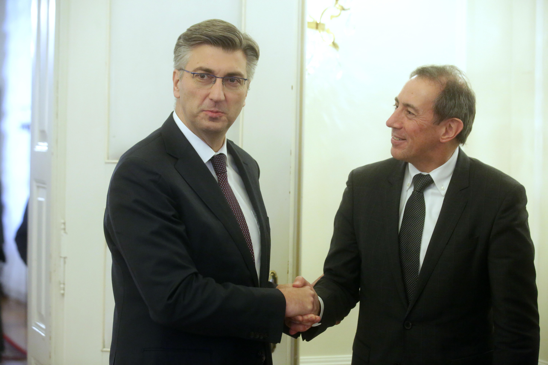 Premijer se sastao s potpredsjednikom Svjetske banke za Europu i središnju Aziju