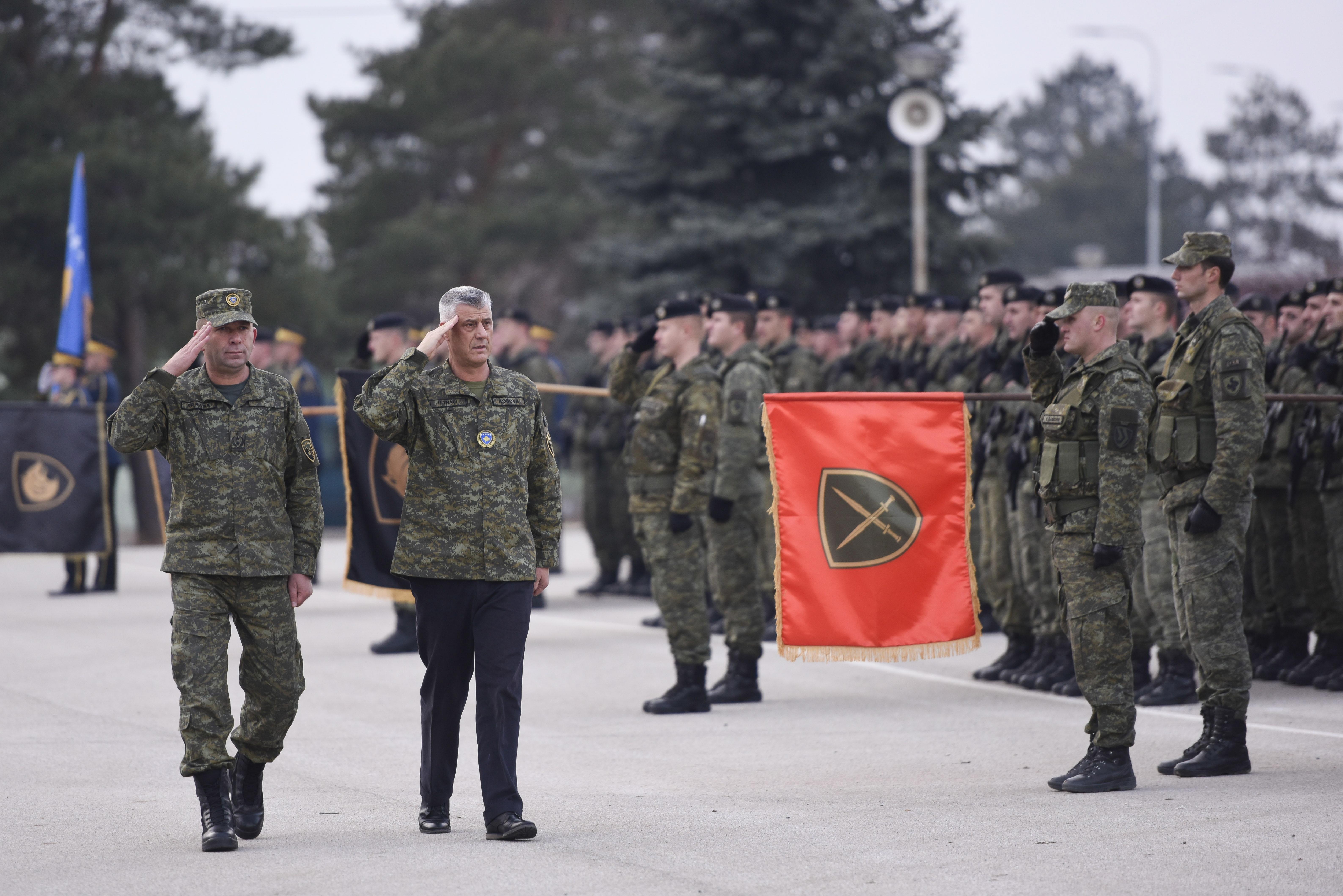 FORMIRANJE VOJSKE KOSOVA Glavni tajnik UN-a poziva na suzdržanost