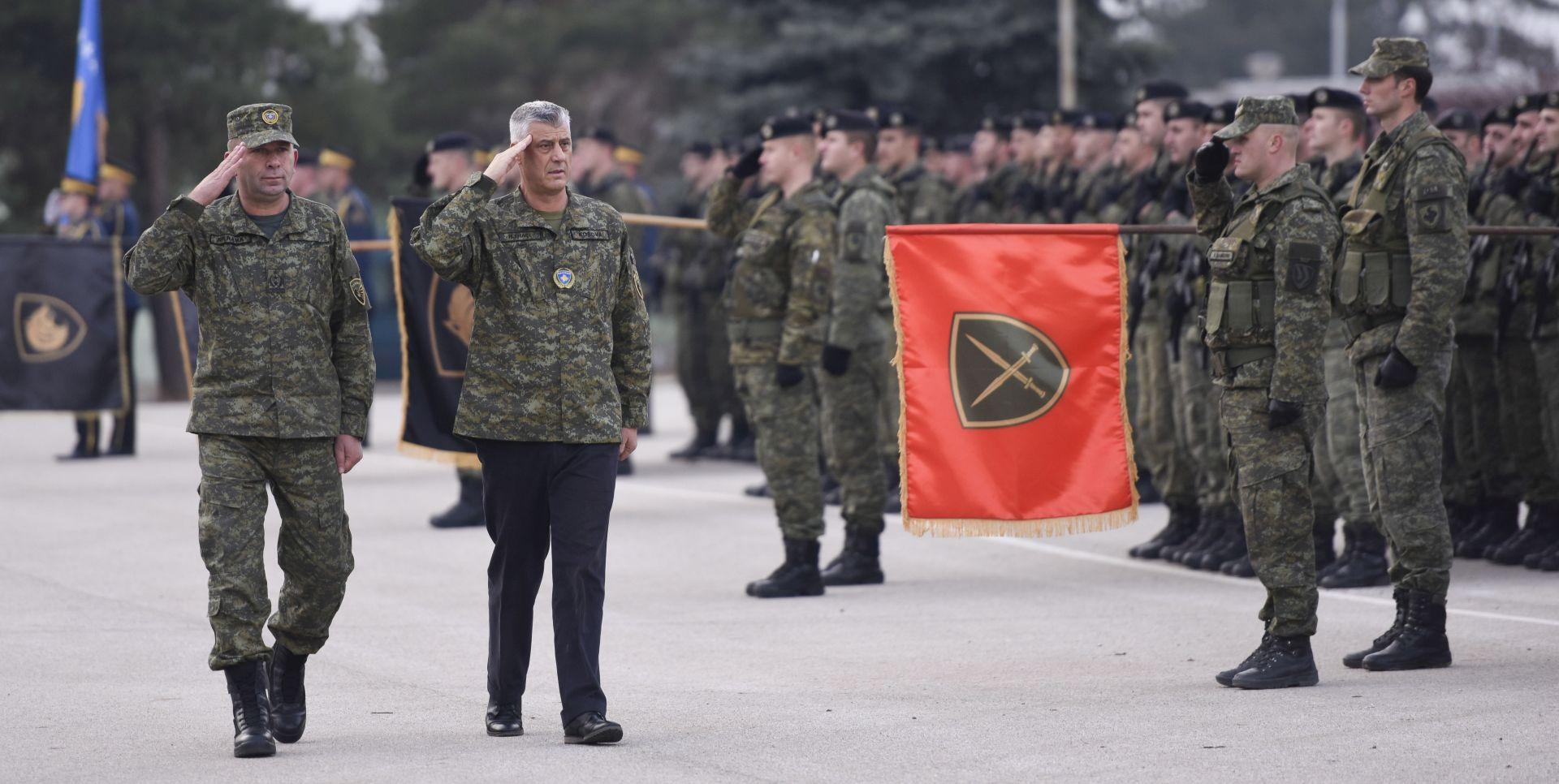 """THACI """"Odluka o osnivanju kosovske vojske je nepovratna"""""""