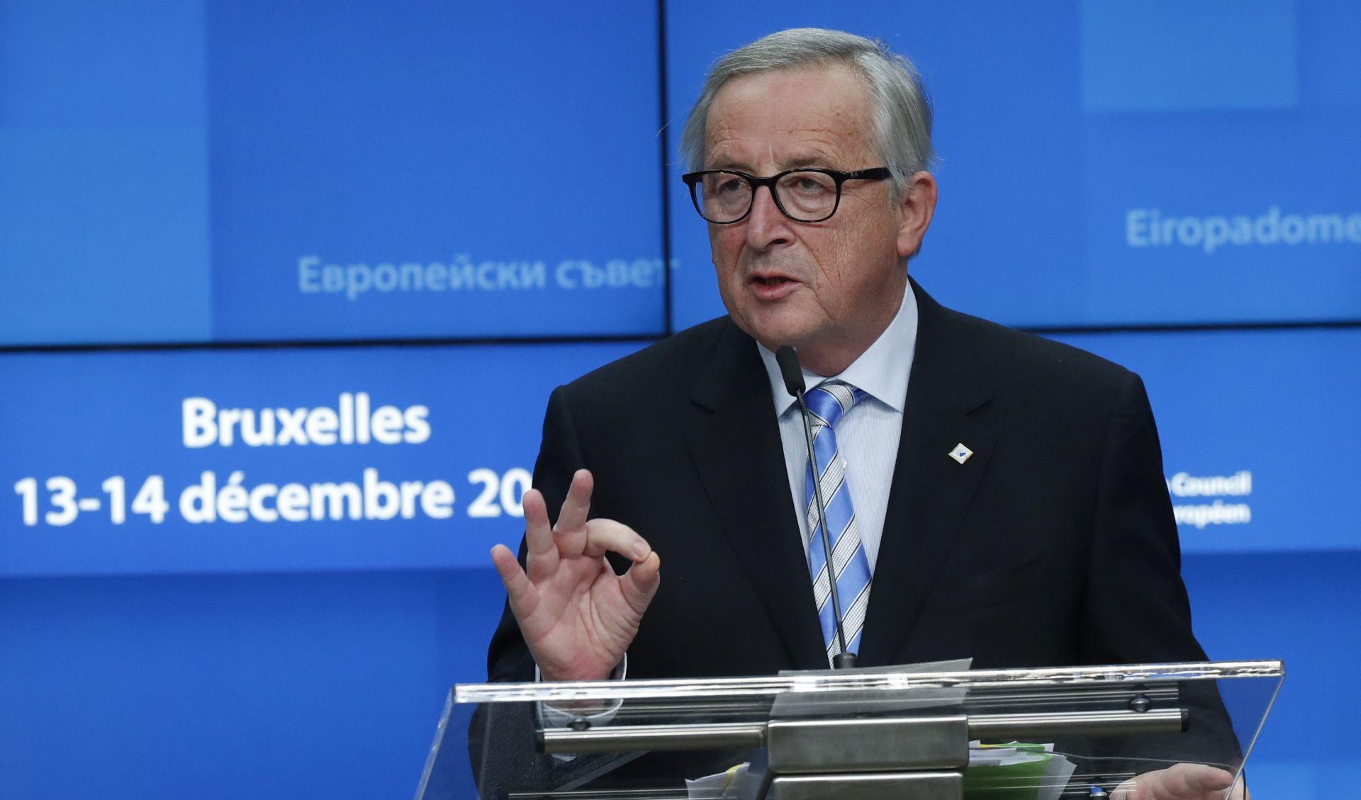 BREXIT Juncker pozvao Britaniju da se 'sabere'