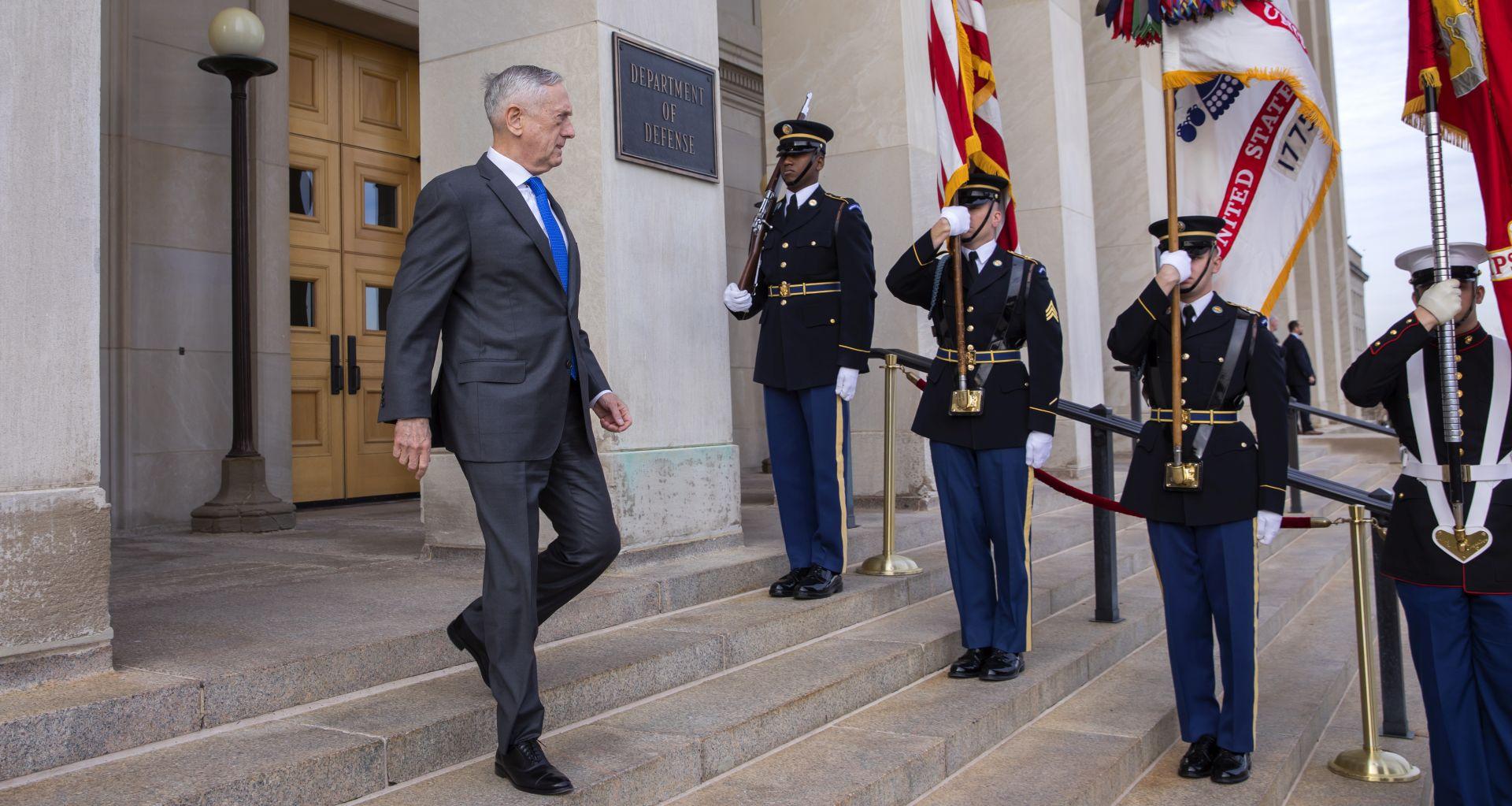 Američki ministar obrane Jim Mattis podnio ostavku