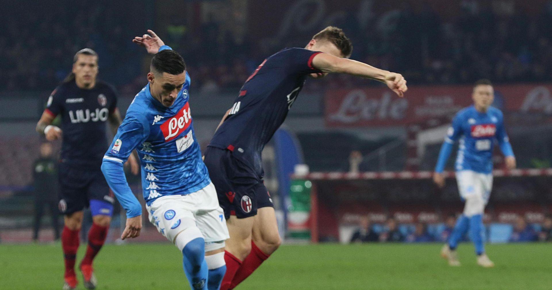 SERIE A Napoli u finišu 'slomio' Bolognu