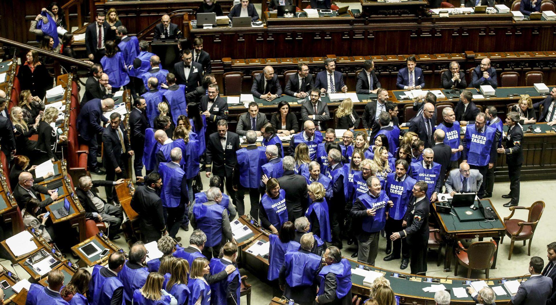 Talijanski parlament prihvatio revidiran proračun za 2019.