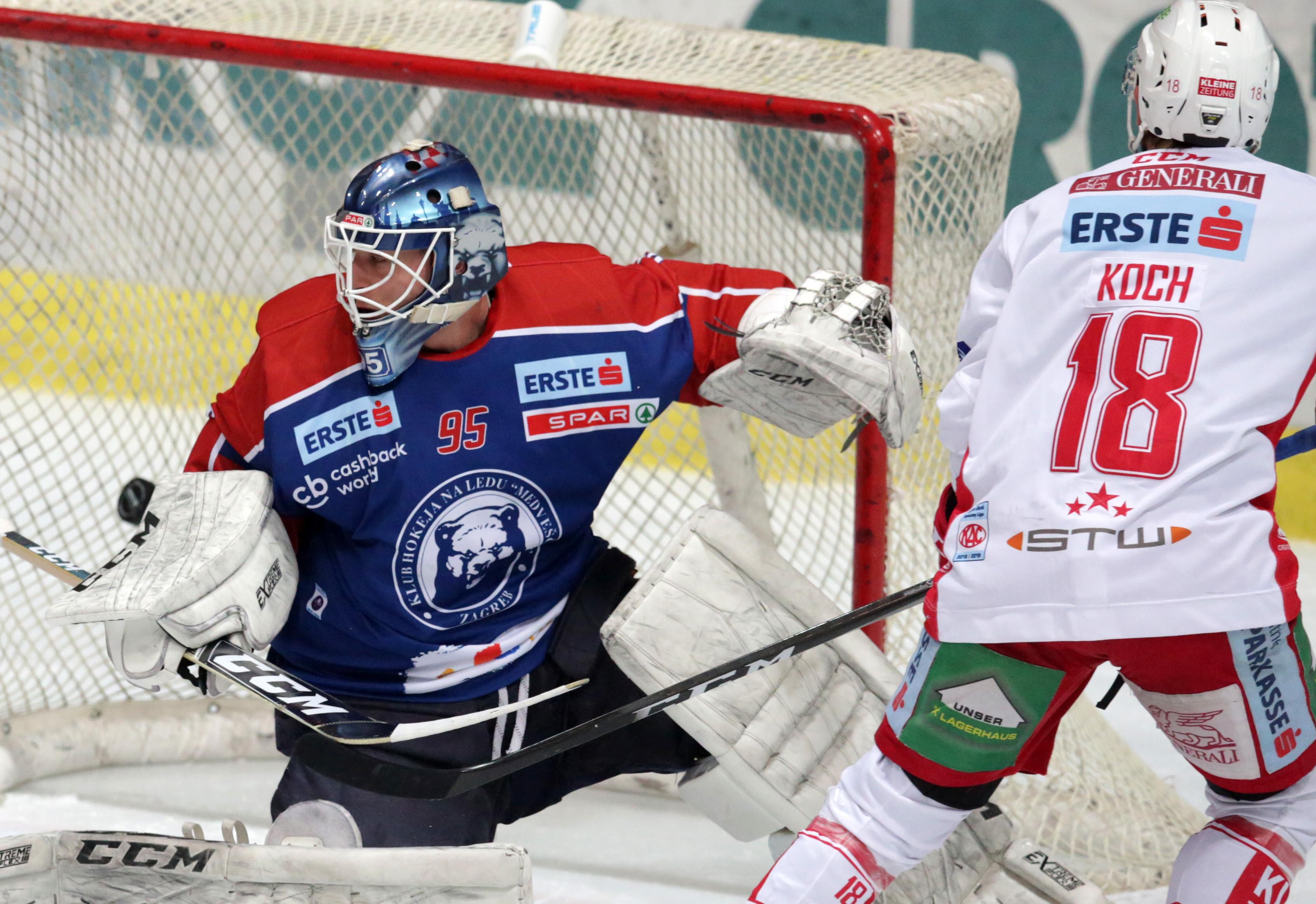 EBEL Medveščak – KAC Klagenfurt 0-7