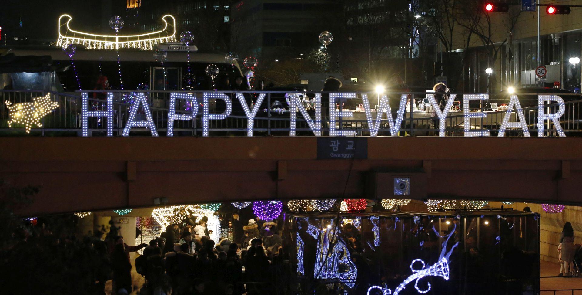 2019. u Kini dočekana mirno, u J. Koreji uz zvonjavu zvona