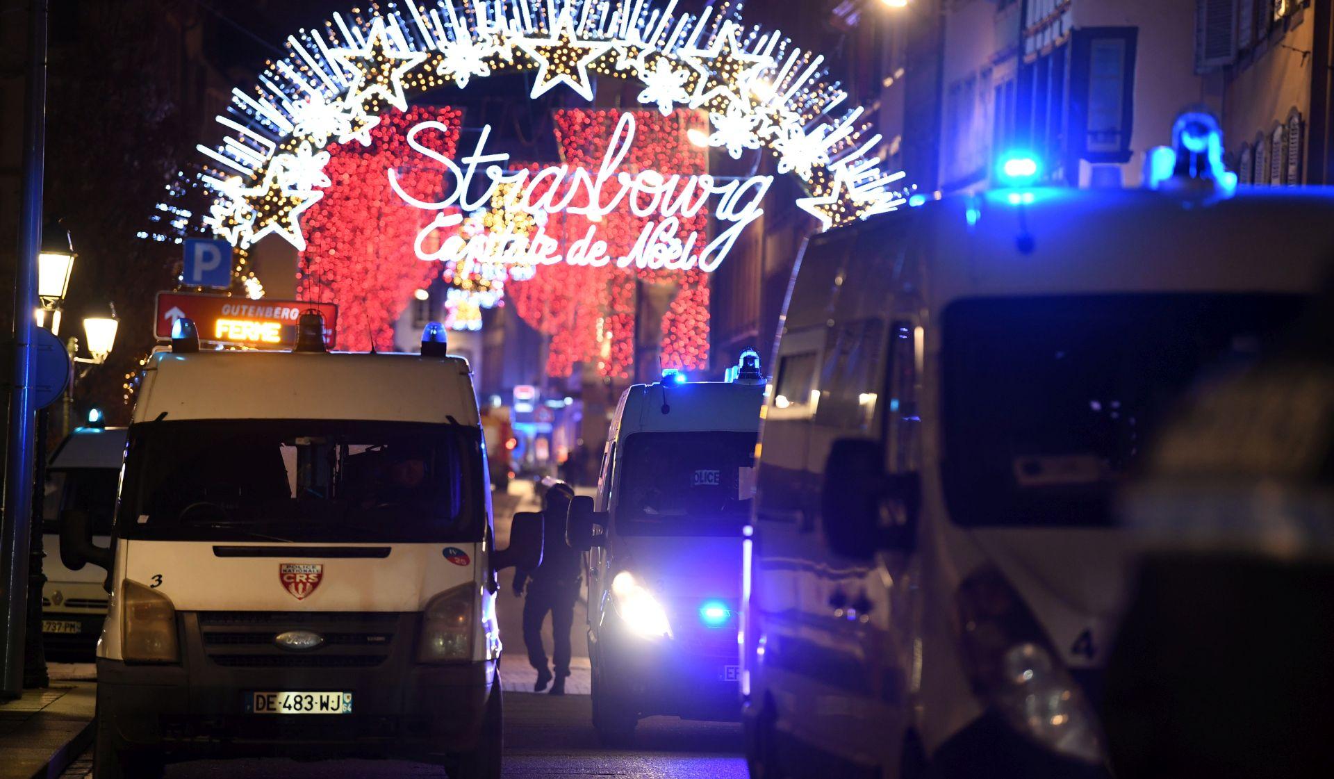 Pustoš i muk na Božićnom sajmu nakon pucnjave u Strasbourgu
