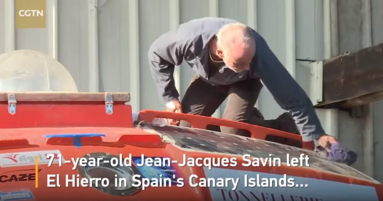 VIDEO: Francuz planira prijeći Atlantski ocean u kapsuli
