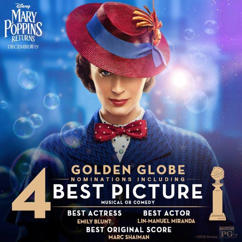 VIDEO: Medijima i kritičarima se sviđa film 'Mary Poppins Returns'