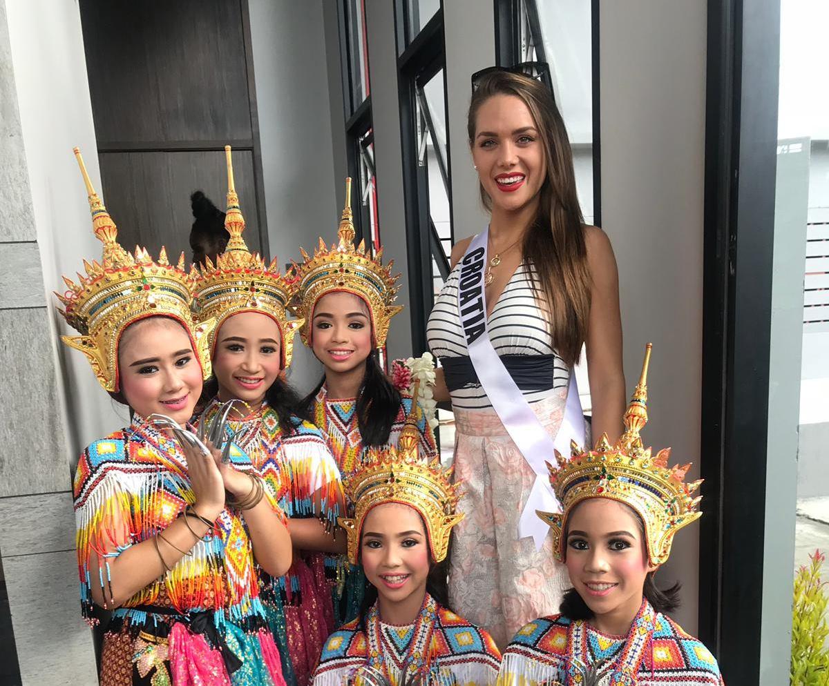 FOTO: VIDEO: Mia Pojatina s drugim natjecateljicama uživa na Tajlandu