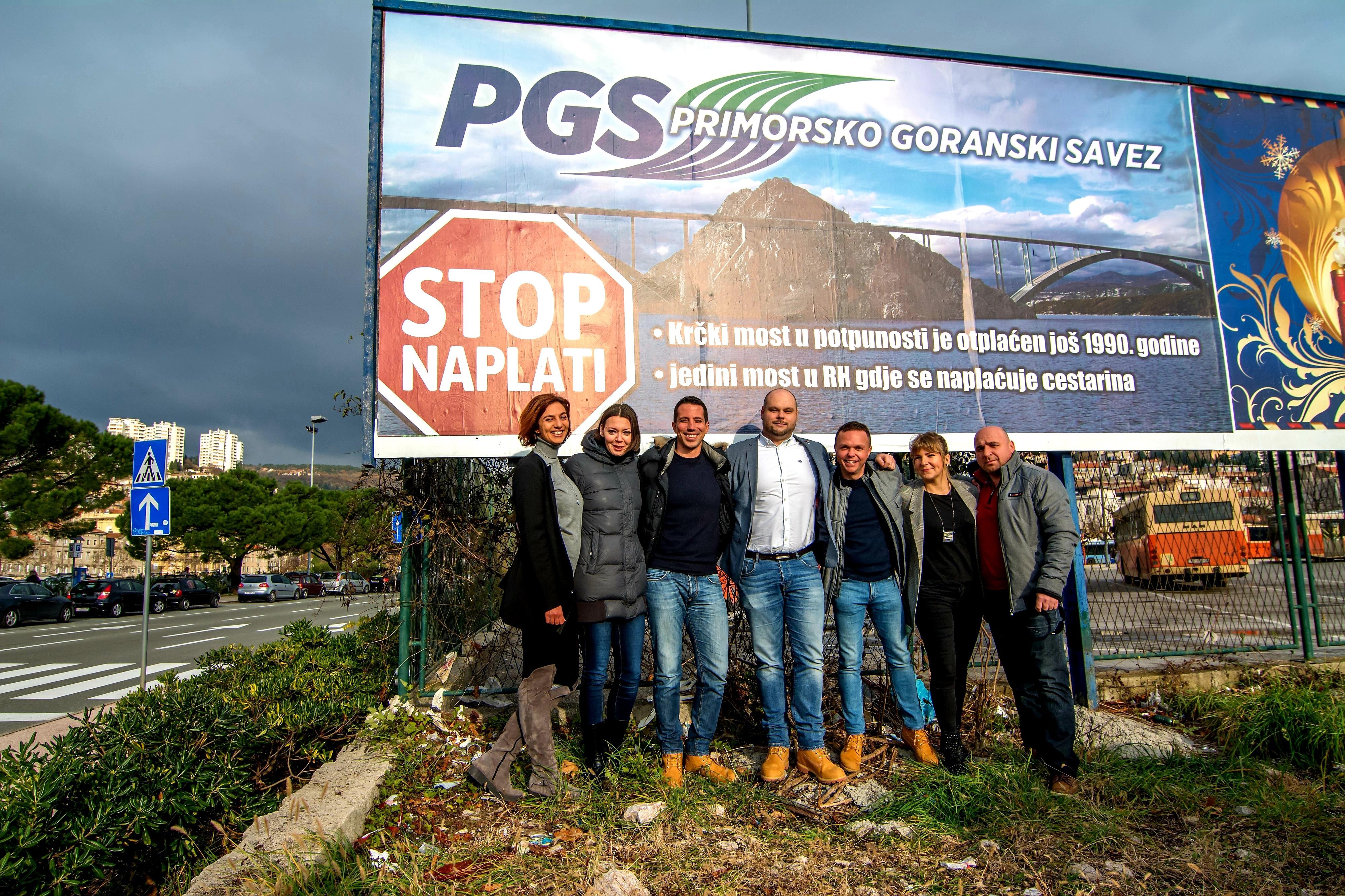 """UPOZORENJE PGS-A """"Ako ne ukinete naplatu Krčkog mosta podnosimo ustavnu tužbu"""""""